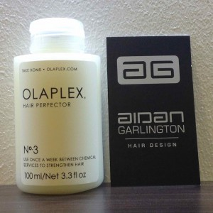 Olaplex hair treatments in central Bristol from Aidan Garlington