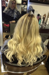 hair extensions in cetnral Bristol from Aidan Garlington Hair Design
