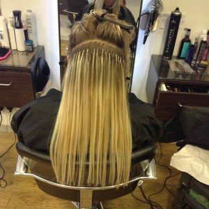 Beauty Works hair extensions in central Bristol at Aidan Garlington Hair Design