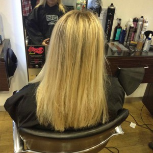hair extensions in Bristol from Aidan Garlington Hair Design