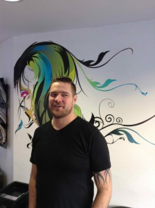 gents hairdressing in central bristol at Aidan Garlington Hair Design