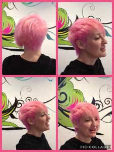 Bristol cropped hair for women at Aidan Garlington Hair Design