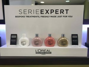 L'Oreal Serie Exeprt hair products and treatments in Bristol at Aidan Garlington Hair Design