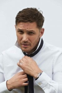 Tom Hardy men's haircut in Bristol at Aidan Garlington Hair Design