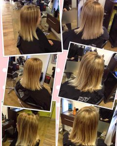 Kerastraight hair treatments in Bristol at Aidan Garlington Hair Design