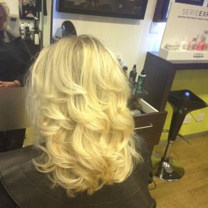 Christmas hairstyles from bristol hairdressers at Aidan Garlington Hair Design