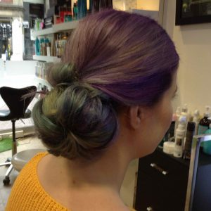 Christmas hair-ups in Bristol at Aidan Garlington Hair Design