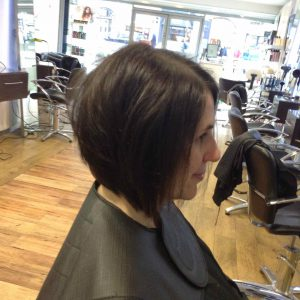 Bob hairstyling in central Bristol at Aidan Garlington Hair Design