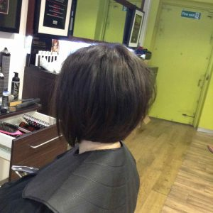 Bob hairstyling in Bristol at Aidan Garlington Hair Design
