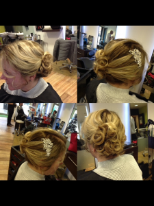 Prom Hair ideas from central Bristol hairstylists at Aidan Garlington Hair Design