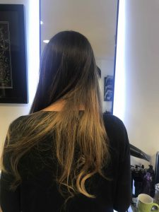 Instant Hair highlighting in Bristol at Aidan Garlington Hair Design