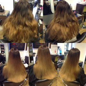 Summer hairstyle Bristol Ombre Aidan Garlington Hair Design