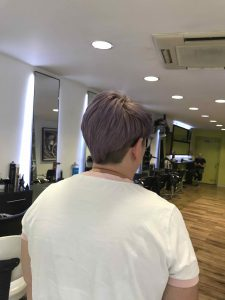 Full Undercut hairstyling in Bristol