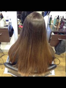hair colouring sun lightened hair Bristol