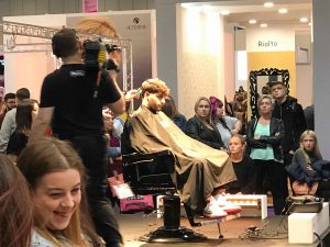 Bristol hairdressers at Salon International 2018