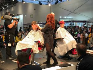 central Bristol hairstylists at Salon International 2018