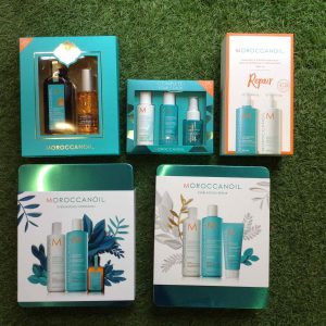 Moroccan Oil christmas gift sets Baldwin street hair salon