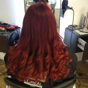 red hair colouring experts Bristol