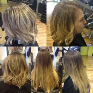 Bristol hair lightening Olaplex