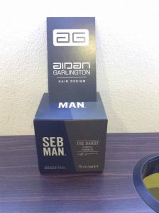 Seb Man The Dandy hair cream Bristol