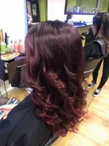 Summer hairstyle Bristol Loose Curls