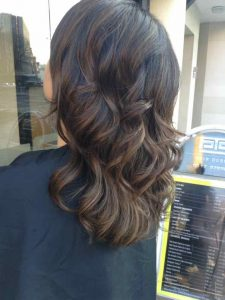 Summer hairstyling Bristol Loose Curls
