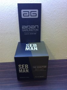 Seb Man Sculptor mens hair product central Bristol