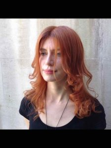 copper red hair colouring Bristol 2020