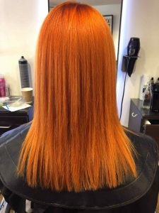 red hair colouring Bristol 2020